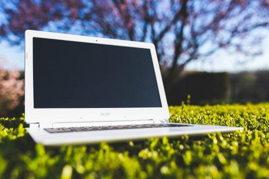 leren laptoptas